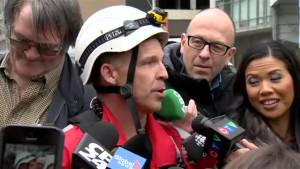 Toronto crane rescue: How did the woman get there?