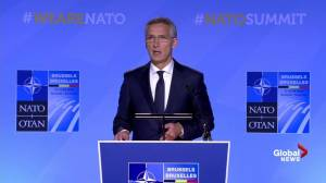 Secretary General Jens Stoltenberg on NATO forces in Iraq