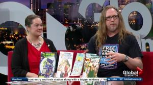 Free Comic Book Day supporting the Edmonton Food Bank