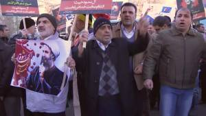 Iranians protest Saudi execution of Shiite cleric