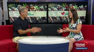 Interview with former pro cyclist covering the Tour of Alberta this weekend