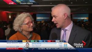 Alberta Election 2015: NDP MP Linda Duncan reacts to stunning win