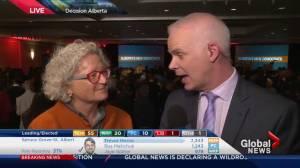 Alberta Election 2015: NDP MP Linda Duncan reacts to stunning win