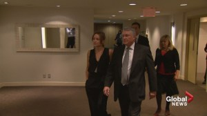 Justice Robin Camp testifies in his own defence