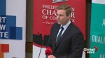 Premier addresses Fredericton Chamber of Commerce