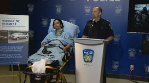 Victim of Brampton hit-and-run speaks to media