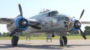B-25 Bomber comes to Kingston