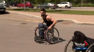 Stolen modified car, Paralympic-calibre wheelchair found abandoned in Calgary