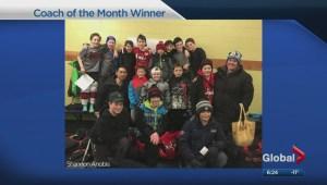 Coach of the Month – Team Spirit Winner