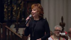 Bush funeral: Reba McEntire performs 'The Lord's Prayer'
