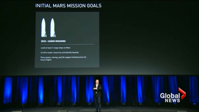 Billionaire Elon Musk announces plans to colonise Mars