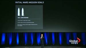 Elon Musk shrinks SpaceX Mars rocket to cut costs, remains bullish on 2022 mission