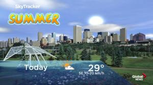 Edmonton early morning weather forecast: Thursday, June 21, 2018