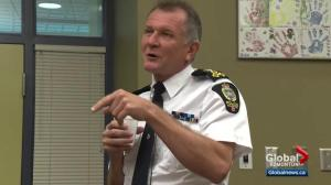 Edmonton police chief Rod Knecht's contract will not be renewed