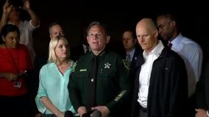 Broward County Sheriff Scott says 12 victims have been identified