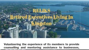 RELIKS (Retired Executives Living in Kingston) assist entrepreneurs