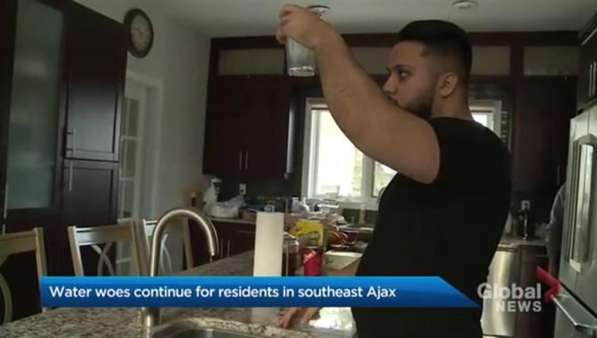 Water woes continue for residents in southeast Ajax