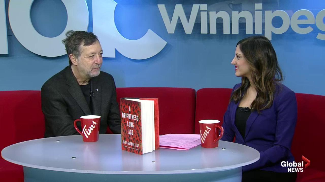 Winnipeg author Guy Gavriel Kay hosts reading of new book