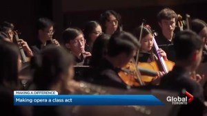 Toronto high school music students give opera a chance