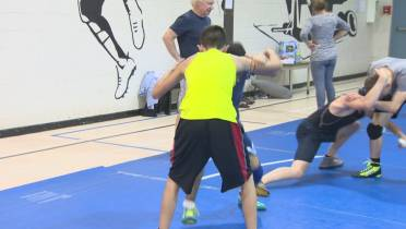 Syrian refugee one of Manitoba's top wrestlers at Canada
