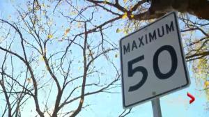 Saskatoon looks at lowering speed limits on neighbourhood streets