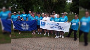 Brockville kidney walk hopes for good turnout at Hardy Park Saturday