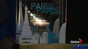 Vigil for Paris victims held in Edmonton Monday evening