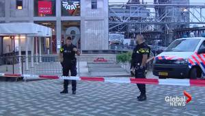 Concert cancelled in Dutch city of Rotterdam after gas canisters found nearby (00:40)