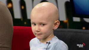 Kids with Cancer: Katie diagnosed with cancer during routine exam