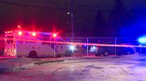 Major police presence in Edmonton's Gold Bar neighbourhood