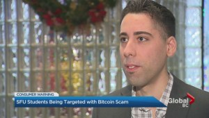 Bitcoin scam targets SFU students