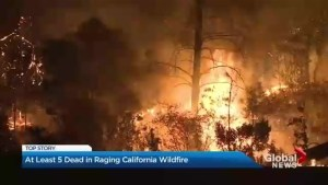 Deadly inferno continues to rage in California