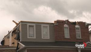 Raw video: Tornado leaves a trail of destruction in Angus, Ontario