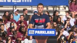 Parkland, Florida students speak at 'March for Our Lives' rally, say 'today is just the beginning' (00:50)
