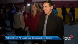 Many of Patrick Brown's constituents welcome his PC leadership run
