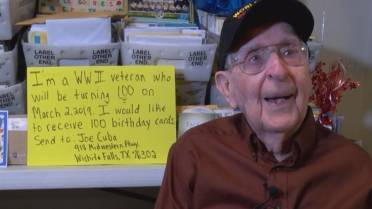 More Than 50000 Cards Sent To WWII Veteran Who Asked For 100 Cards