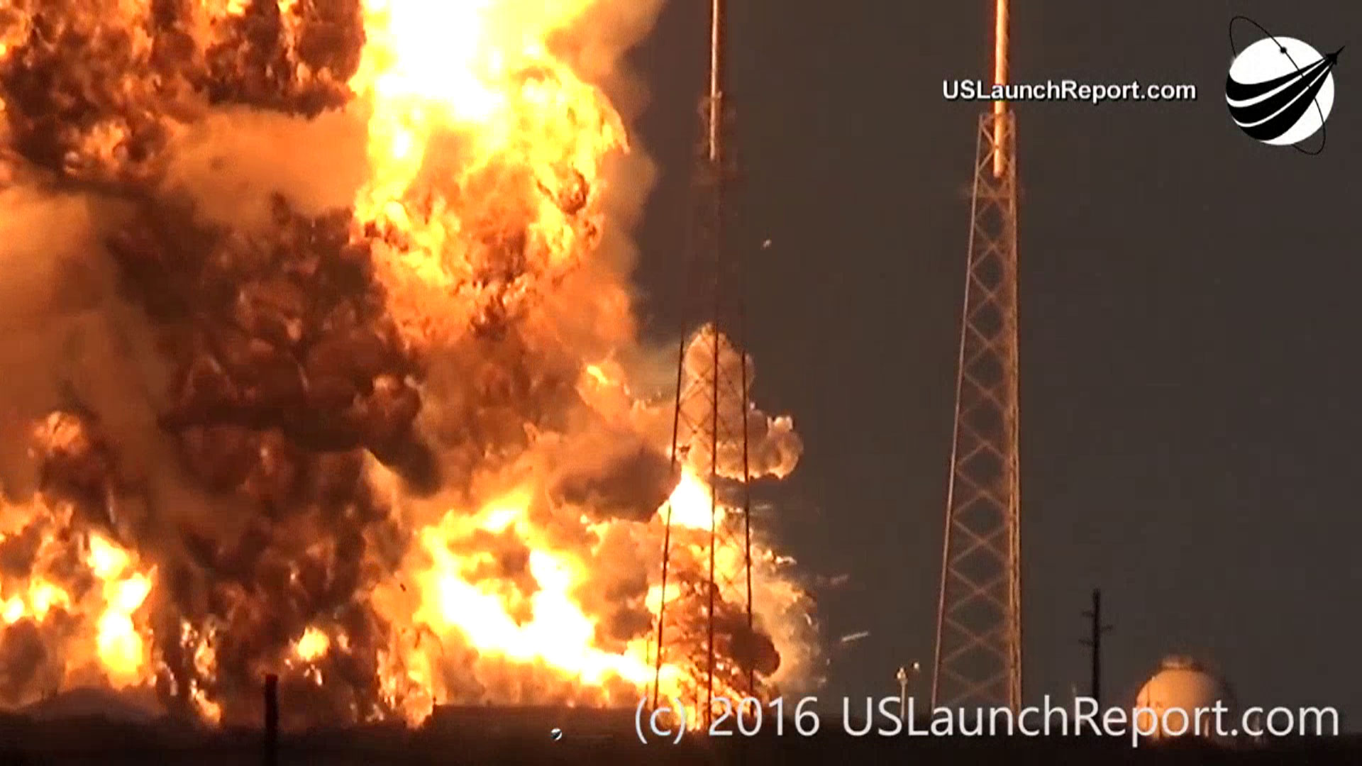 WATCH Caught on camera SpaceX rocket explodes during testing