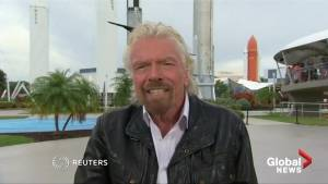 Richard Branson says moon landing left him 'awestruck'