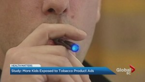 More children are seeing tobacco product ads