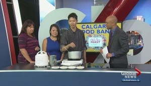 Special dish delivers support for the Calgary Food Bank