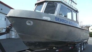Who stole a Search and Rescue boat and why?