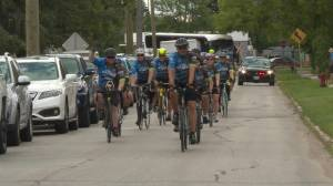 26th annual 'Cycle of Hope' come to celebratory finish in Winnipeg