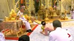 Thailand's new queen 'bows' before her husband in video released by Thai media