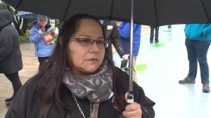 Trudeau doesn't have consent of all First Nations: Pipeline protester