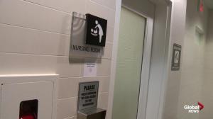 Inside nursing rooms at Calgary shopping malls