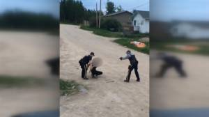 RCMP officer pulls gun, utters profanities during arrest of youth in Sask.