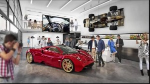 Luxury accommodations for supercars