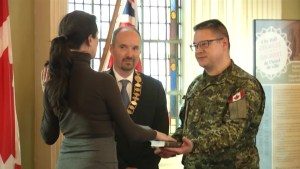 8 enroll in Kingston for army and navy reserves