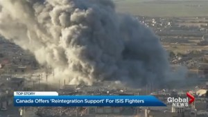 Canada offers 'reintegration support' for ISIS fighters