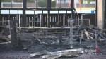 Assiniboia West Community Centre equipment building burns